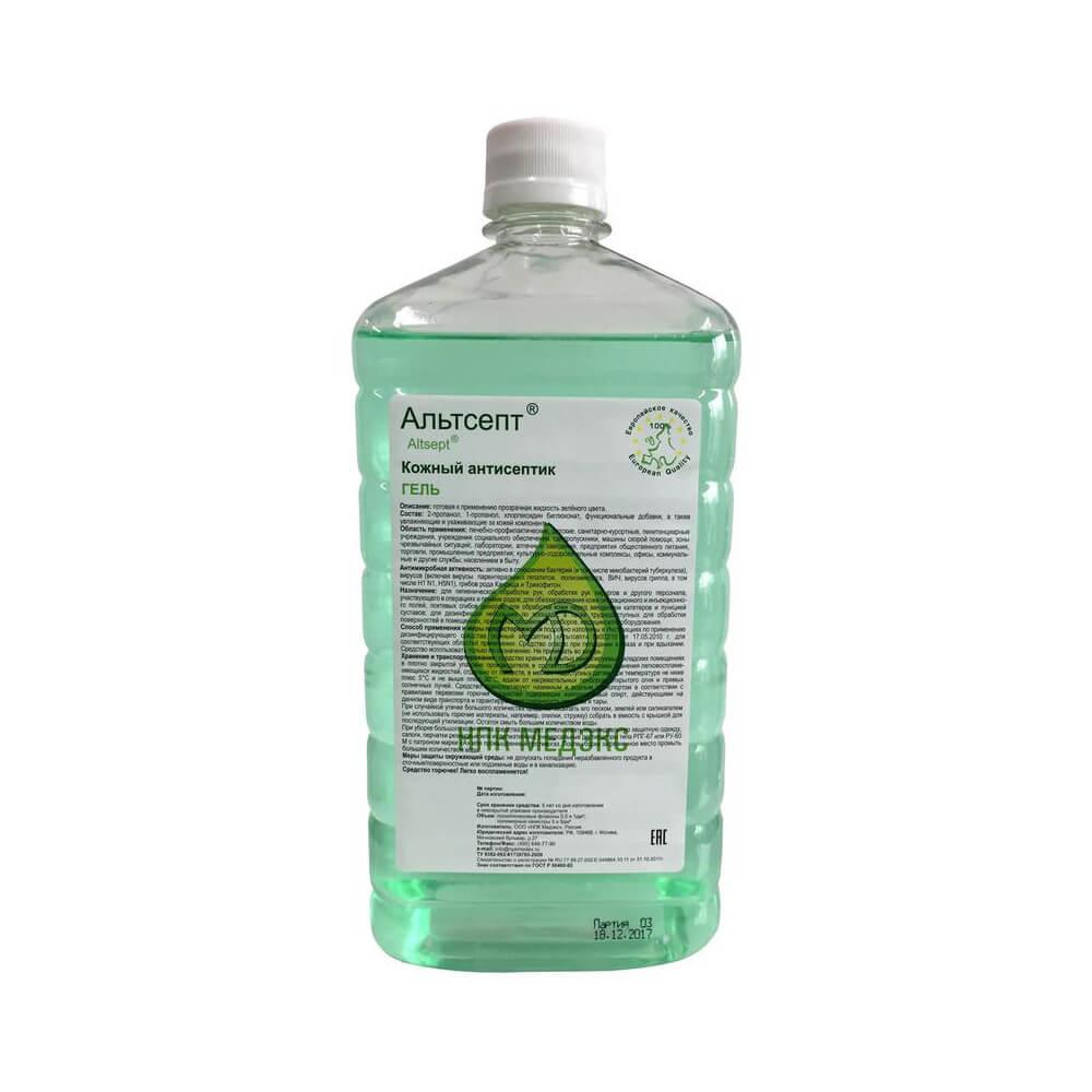Альтсепт гель 1 л, кожный антисептик