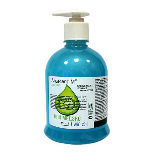 Альтсепт М 500 мл- жидкое мыло