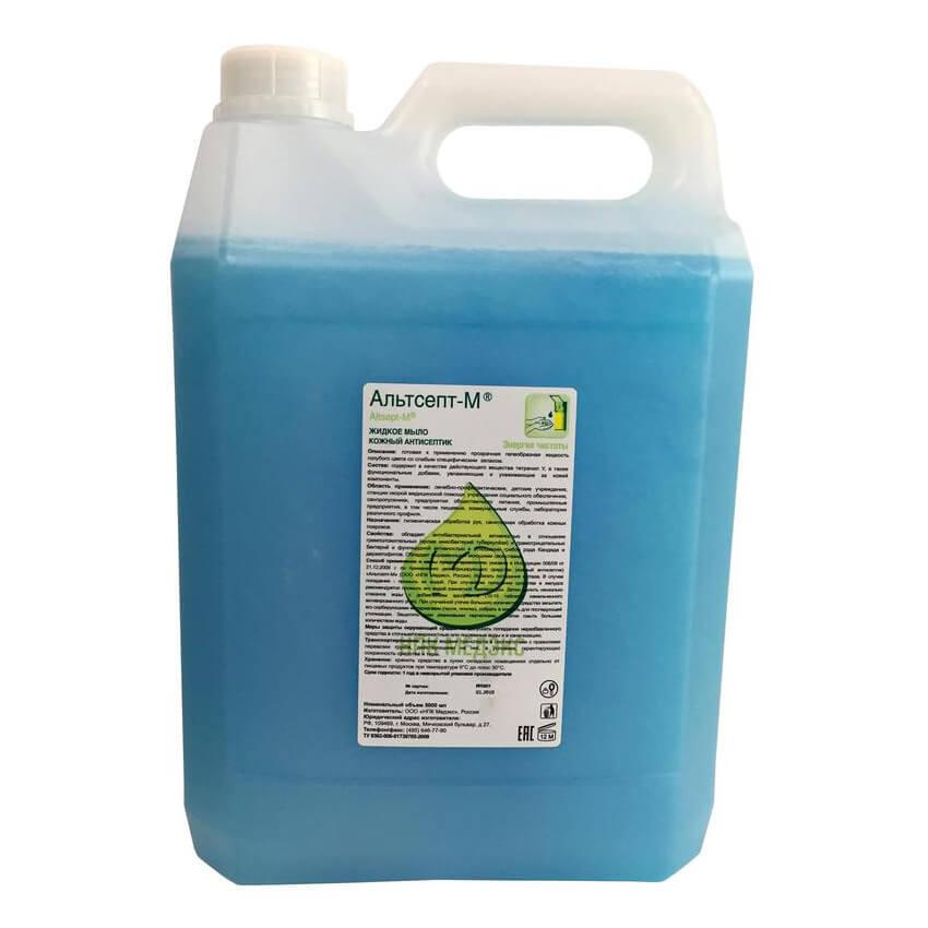 Альтсепт М 5 л - жидкое мыло