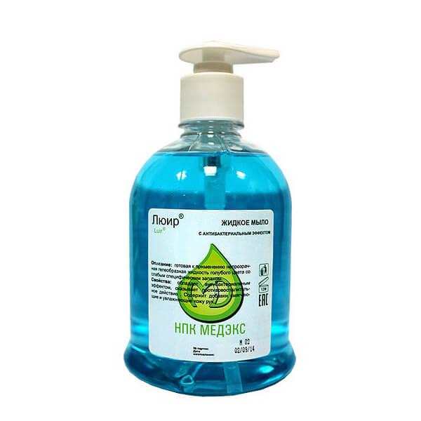 Люир антибактериальное жидкое мыло 500 мл
