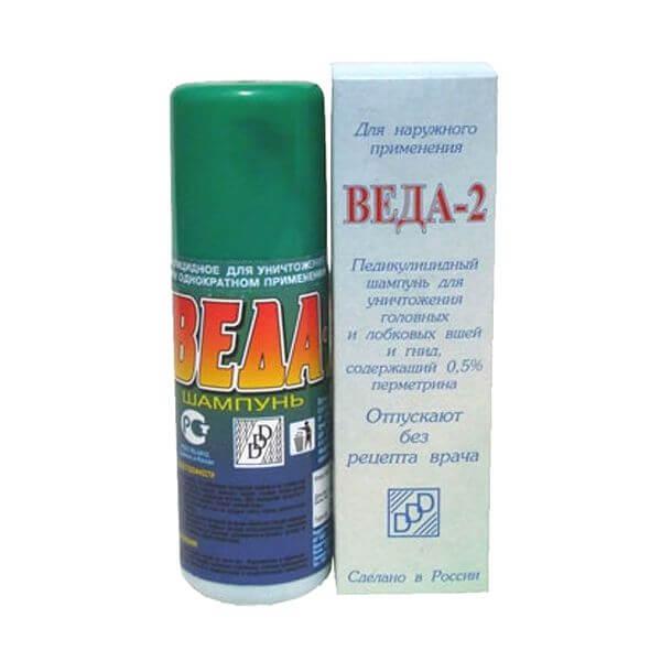 Веда-2 педикулицидный шампунь 100 мл